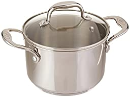 Stainless Steel 3-qt Sauce Pot with Lid