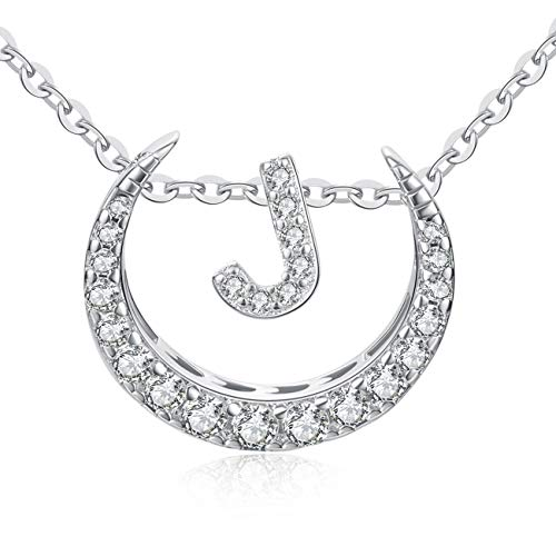 OAKING Necklace for Women, S925 Sterling Silver Cubic