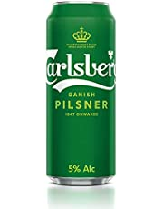 Carlsberg Green Label Can Beer, 500ml (Pack of 24)