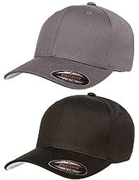 bda7c9898a2 2-Pack Premium Original Cotton Twill Fitted Hat …
