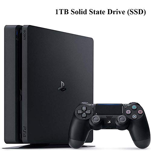 NexiGo Playstation 4 Slim PS4 1TB SSD Console with Dualshock 4 Wireless Controller