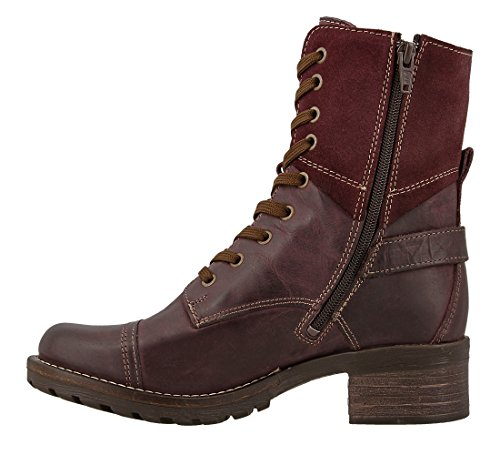 Boot Bordeaux Crave Women's Leather Taos Suede nWpU4zwUx