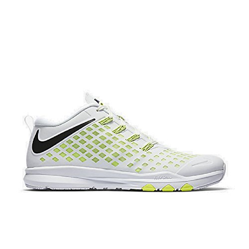 Nike Train Quick - Hiking Trainers, Man, Color White (White/Black-Volt), Size 46