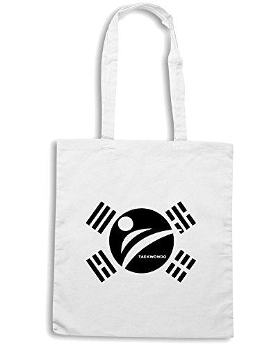 T-Shirtshock - Bolsa para la compra TAM0046 hooded sweatshirt Blanco