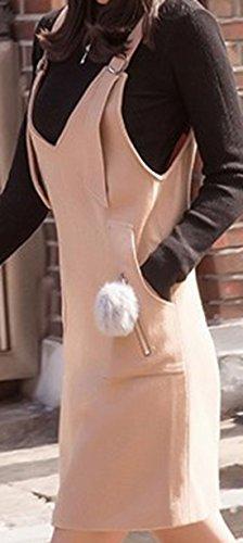 erdbeerloft - Vestido - cuello hálter - Opaco - para mujer