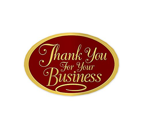 Abc Thank You Stickers Seal, Use for Envelopes etc. Embossed Gold (Gold Embossed Envelope)