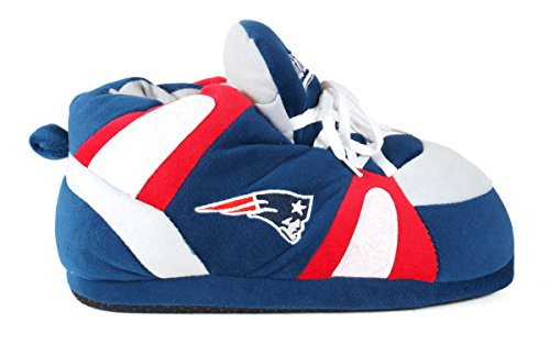 Slippers Happy Sneaker LICENSED New Comfy Feet Feet England Slippers Mens amp; and NFL Womens Patriots OFFICIALLY XP4RvPr