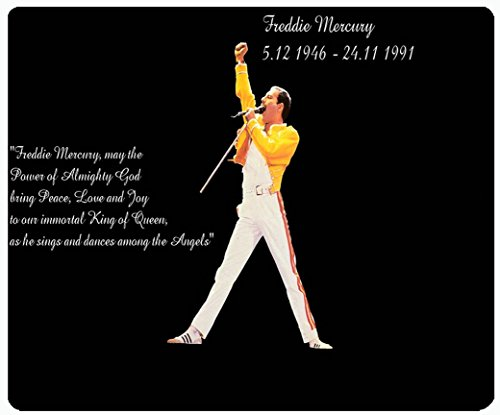 (Freddie Mercury Queen Custom Design Cool Gaming Mousepd Mouse Pad Mat)