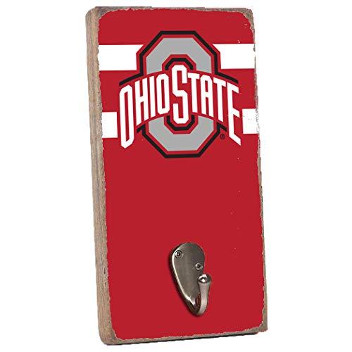 Rustic Marlin NCAA Ohio State Buckeyes Wall Hook, Red, 11