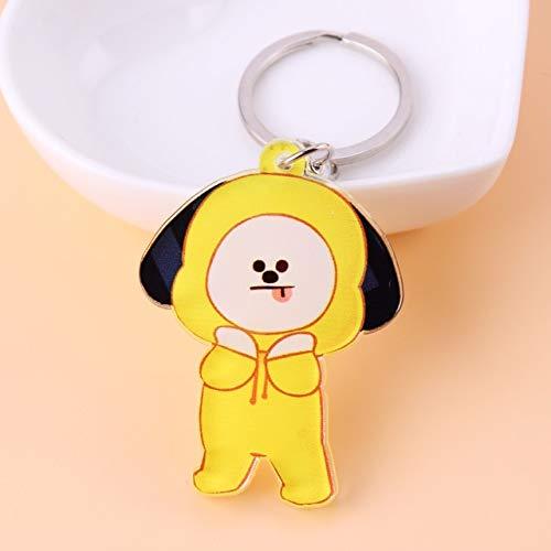 Key Tags & Chains, Cute Anime Kpop Boys Key Chain Love Yourself - -