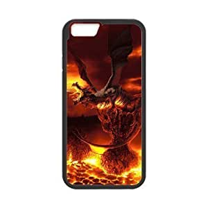 Diy Cool Dragon For Ipod Touch 4 Phone Case Cover Black Shell For Ipod Touch 4 Phone Case Cover [Pattern]