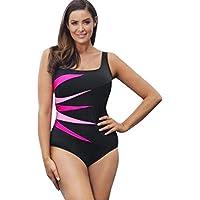 Auwer Hot Sale Women's Pro One Piece Athletic Swimsuit One Piece Bathing Suit Plus Size