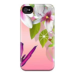 Cute Appearance Cover/tpu Summers Colors Case For Iphone 4/4s