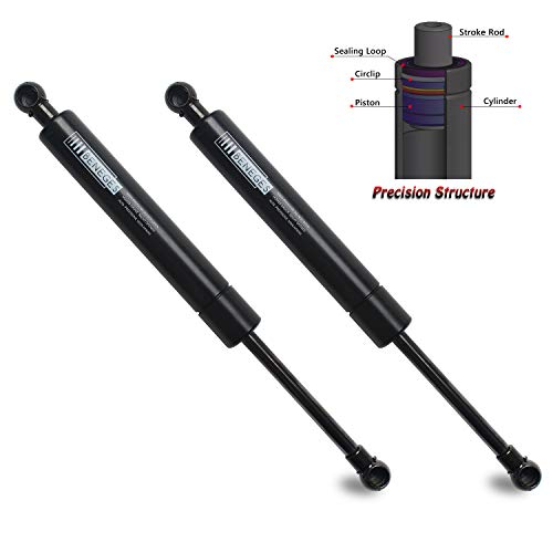 Beneges 2PCs Tailgate Lift Supports Compatible with 2001-2007 Volvo V70, 2006-2007 Volvo XC70 Rear Hatch Liftgate Gas Charged Springs Struts Shocks Dampers SG415010, SG415008, 613839