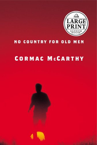 No Country for Old Men (Random House Large Print)