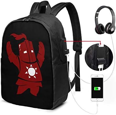 ビジネスリュック ダークソウル メンズバックパック 手提げ リュック バックパックリュック 通勤 出張 大容量 イヤホンポート USB充電ポート付き 防水 PC収納 通勤 出張 旅行 通学 男女兼用