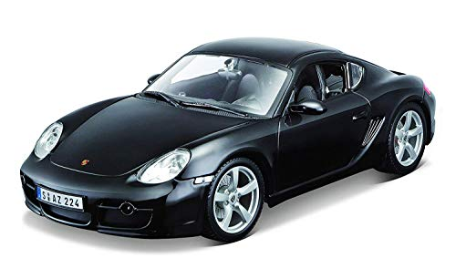Maisto 1:18 Scale Porsche Cayman S Diecast Vehicle , Black