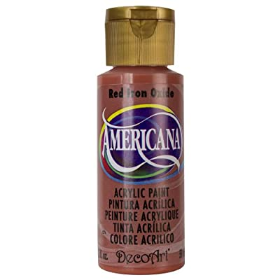 DecoArt Americana Acrylic Paint, 2-Ounce, Red Iron Oxide