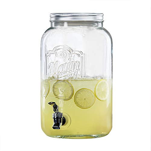 glass 2gallon beverage dispenser - 8