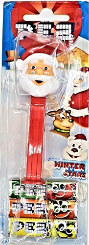 Santa Claus Pez Candy Dispenser with 2 Refills