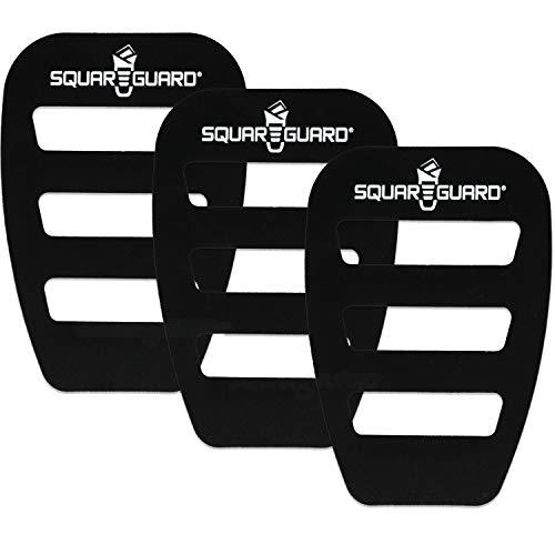 SquareGuard Pocket Square Holder For Men(3 Pack), Best Pocket Square Organizer