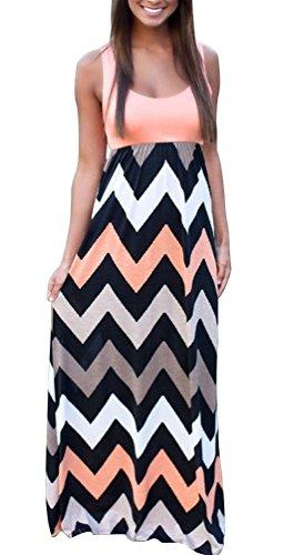 maxi dress and high heels - 5