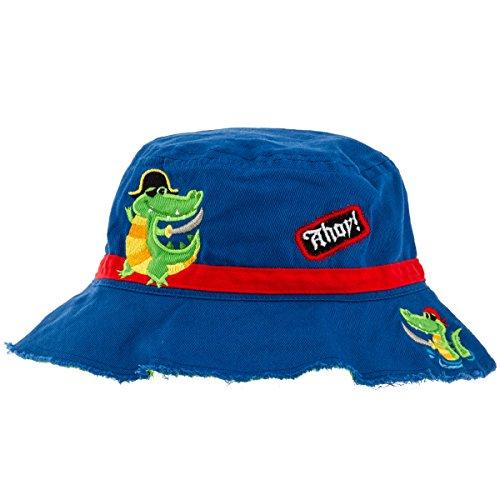 Stephen Joseph Bucket Hat, Alligator/Pirate