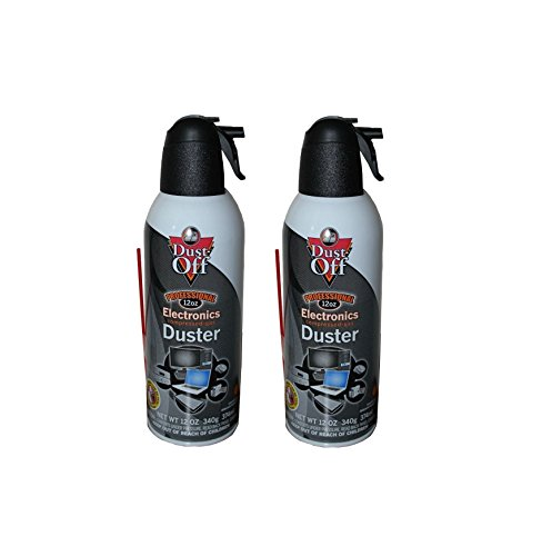 Falcon Dust-off Professional Electronics Compressed Gas 12oz. - 2 Pack by Dust-Off