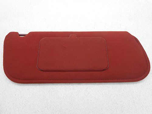 New OEM Ford Sun Visor Tempo Topaz 1984-1987 Right Scarlet Red