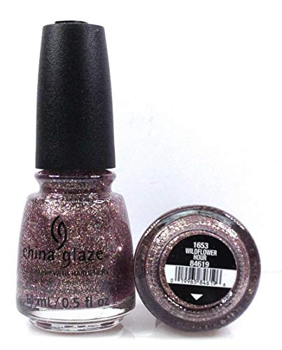 China Glaze Nail Lacquer -The Arrangement Spring 2019 - Pick Color .5oz (1653 - Wildflower Hour)