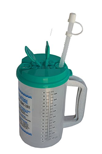 32 ounce water jug with straw - 8