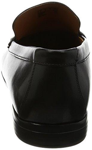 Lane para Clarks Mocasines Claude Leather Hombre Negro Black 5nn7zx4fH