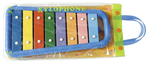 - Hohner Kids HMX3008B-Toddler Glockenspiel, 8 Bar (HMX3008B)