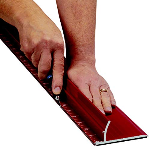 Safety Ruler Cutting Straight Edge - Steel Edge Rhino Ruler