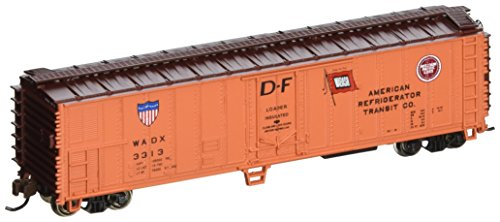 Bachmann Industries ACF 50' Steel Reefer American Refrigerator Transit Company Car, N Scale - Reefer 50' Steel