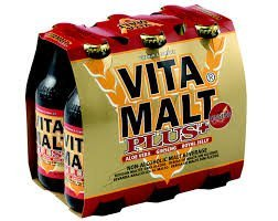 (VITAMALT PLUS Energy Drink with Aloe Vera-Ginseng-Royal Jelly -- 6 Pack by Vita Malt)