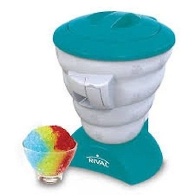 Rival Frozen Delights Shaved Ice Snow Cone Maker Machine.