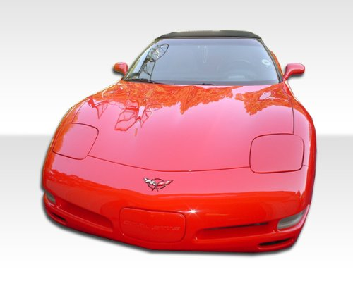 Duraflex Replacement for 1984-1996 Chevrolet Corvette C4 C5 Conversion Front Bumper Cover - 1 Piece