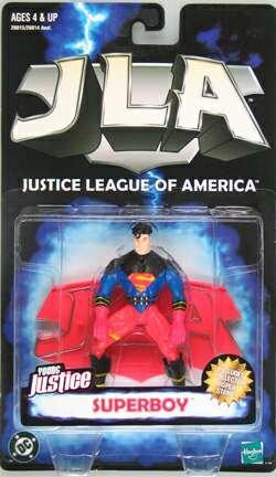 JLA Justice League America Young Justice : Superboy Figure]()