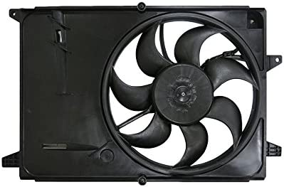 NEW DUAL RADIATOR AND CONDENSER FAN FITS CHEVROLET SPARK 2017 GM3115271 42426778
