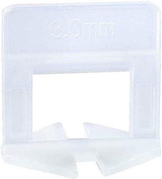 "250 Wedges Tile Leveling System Kit Floor Wall Tile Spacer 400 pcs 1//8/"" Clips"
