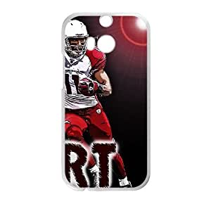 Arizona Cardinals HTC One M8 Cell Phone Case White persent zhm004_8450449