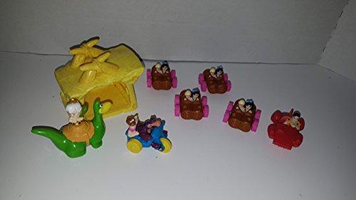 Vintage McDonalds Happy Meal Flintstones Figures Toys (Flintstones Mcdonalds Toys)