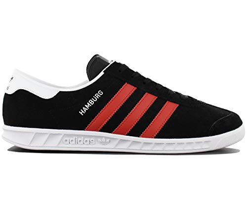 adidas core da red Tennis Hamburg black white Scarpe Uomo footwear ZXZrq7w