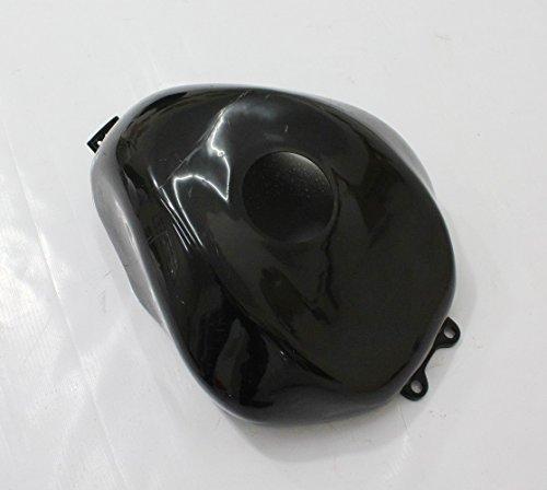 ZXMOTO Fuel Gas Tank Cover Fairing For Kawasaki Ninja ZX10R 2004 2005 Unpainted Black