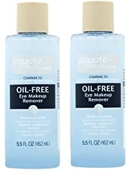 Equate Beauty Oil-Free Eye Makeup Remover, 5.5 oz, Pack...