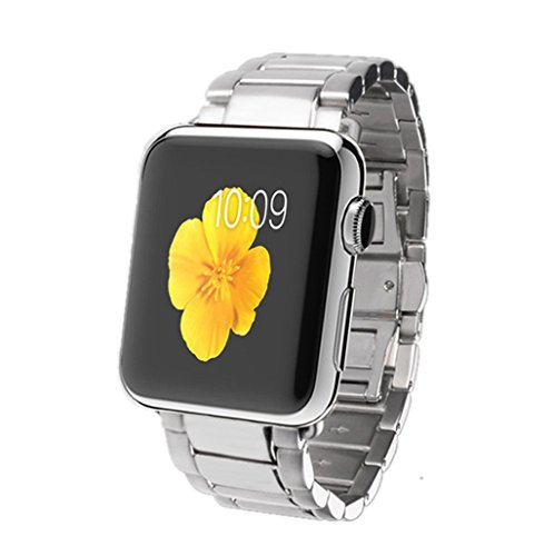 TOOPOOT(TM) Hot Sale Stainless Steel Watch Bands for Apple Watch 42MM