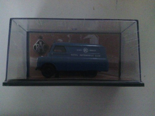 (corgi blue royal automobile club RAC bedford van 1.43 scale limited edition diecast model by)