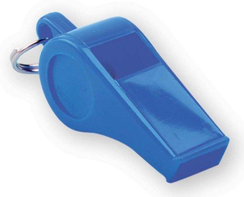 Markwort Plastic Whistles (Bag of 144), Royal Blue