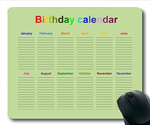 2022 カレンダー マウスパッド 181222-001 300*250*3 mm 300*250*3 mm Yt2 B07MN1YPJM